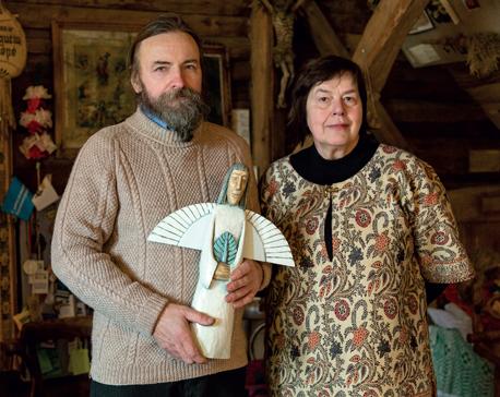 Angele ir Vytautas Raukciai
