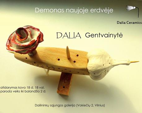 plakatas - DALIOS paroda - kovo 18