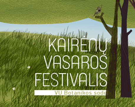 Kairėnų vasaros festivalis VU Botanikos sode