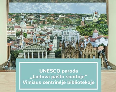 UNESCO-paroda-Lietuva-pasto-siuntoje