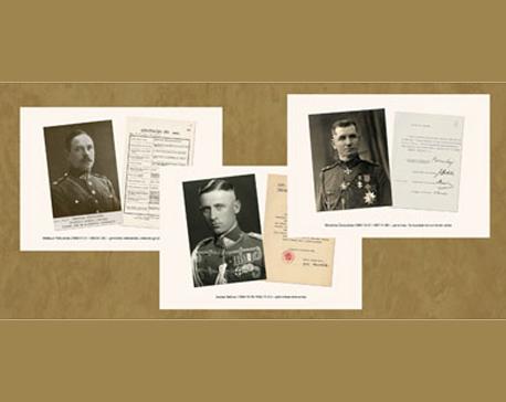 Lietuvos kariuomenės karininkų portretai
