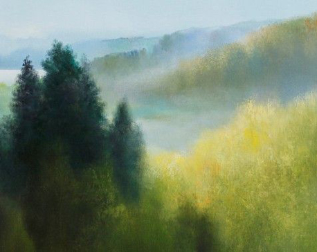 Bonaventūro Šalčio tapybos paroda