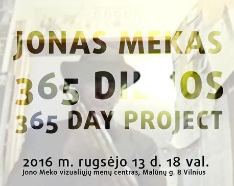 Jonas Mekas_365 dienos